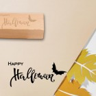 sello madera para scrap happy halloween