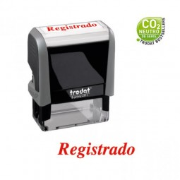 Sello de oficina: REGISTRADO